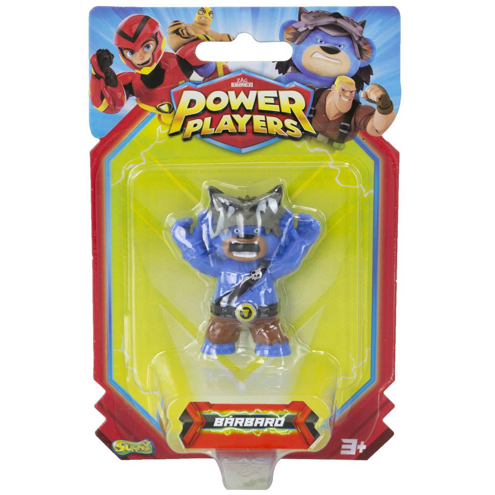 Power Players - Minifigura 5 Cm - Bearbarian