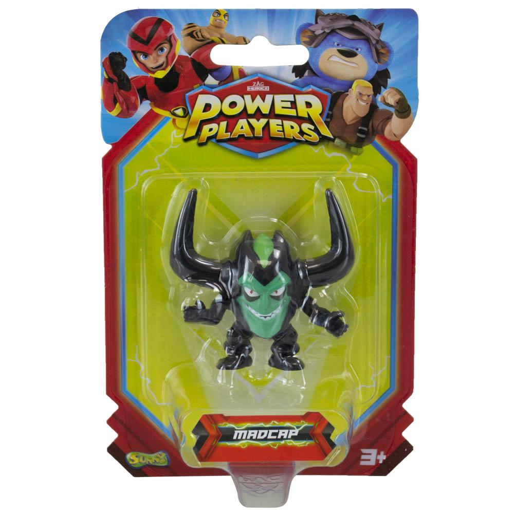 Power Players - Minifigura 5 Cm - Madcap