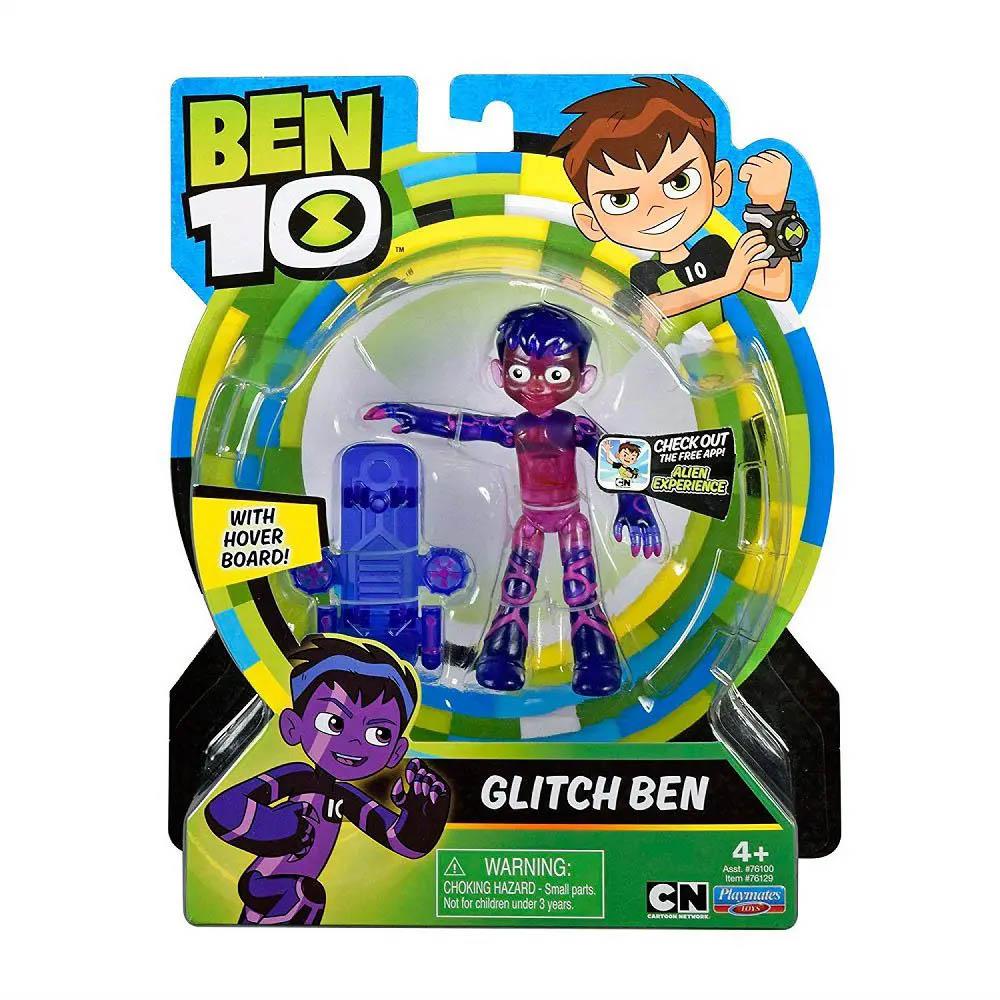 Ben 10 - Minifigura Articulada 10 Cm - Ben Glitch