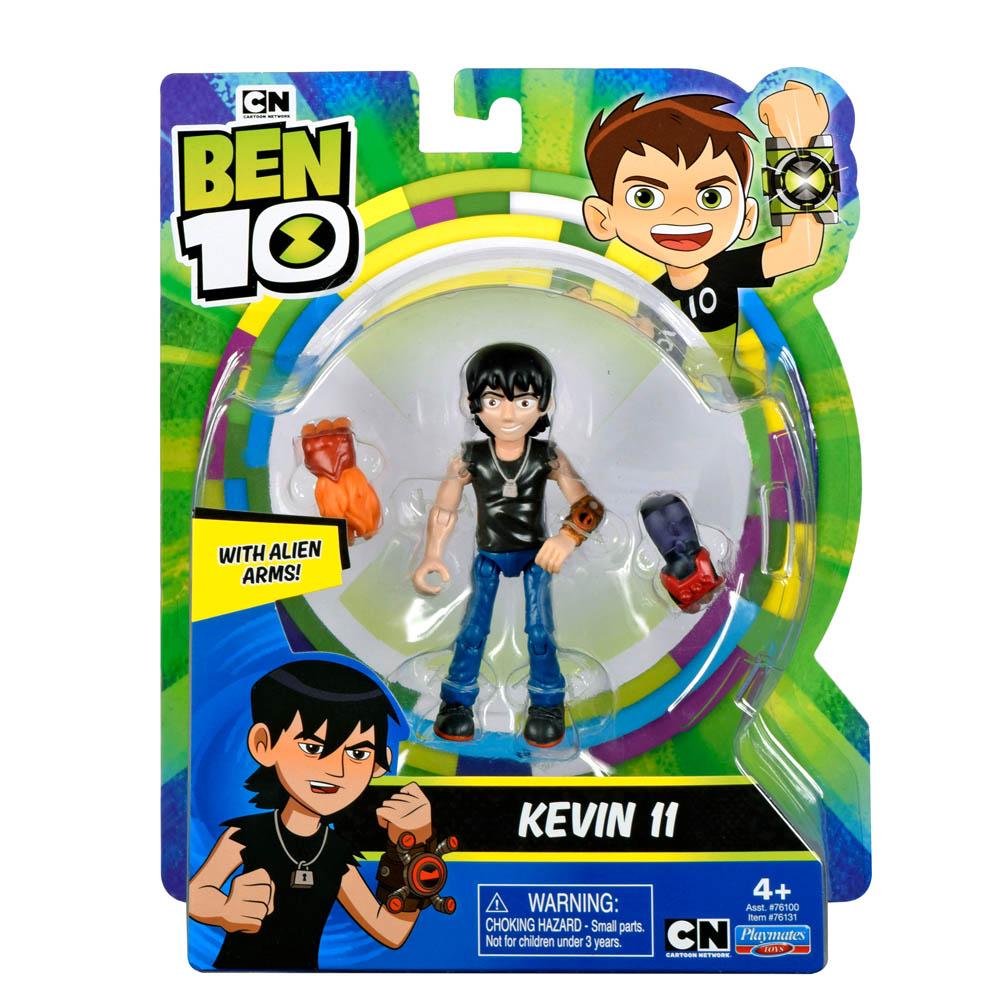 Ben 10 - Minifigura Articulada 10 Cm - Kevin 11