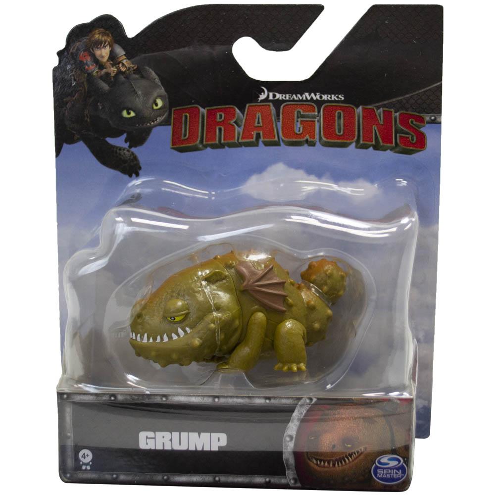 Mini Figura  Como Treinar Seu Dragão - Grump - Sunny