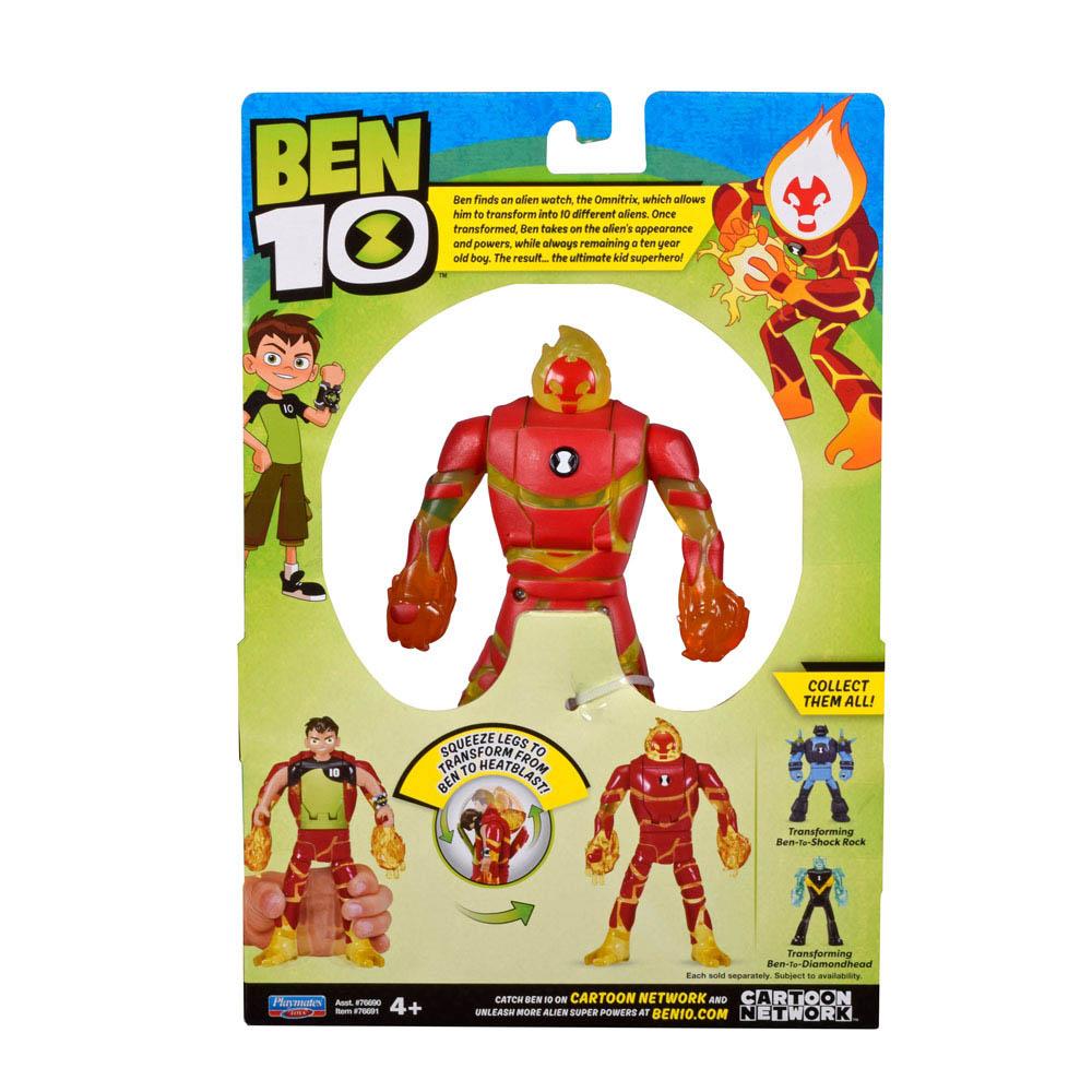 Ben 10 - Minifiguras Transformáveis - Ben Em Chama