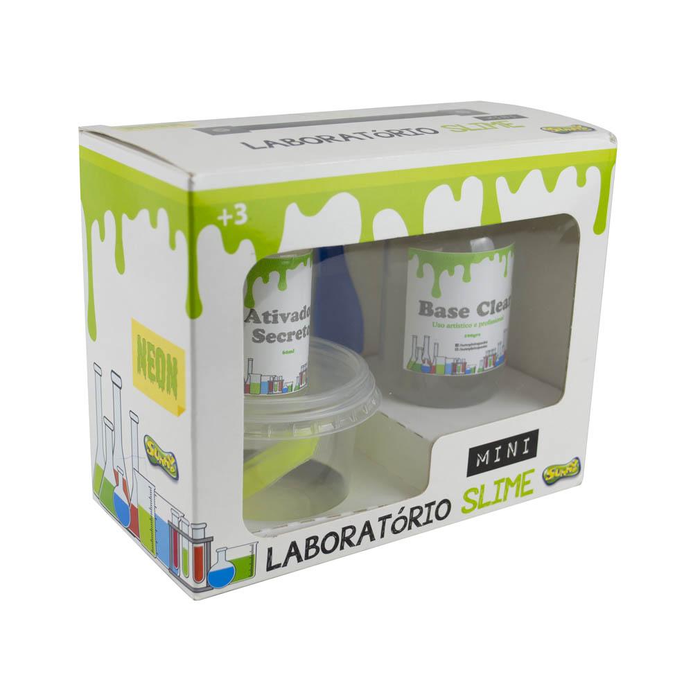 Minilaboratório Slime