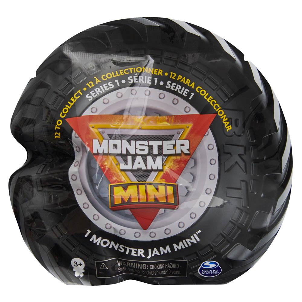 Monster Jam - Miniveículos Monster Jam 3 Cm
