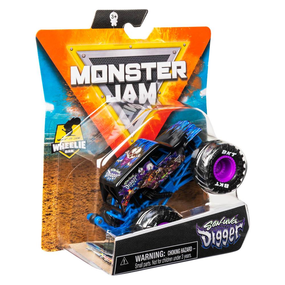 Monster Jam - 1:64 Die Cast Truck Son Uva Digger