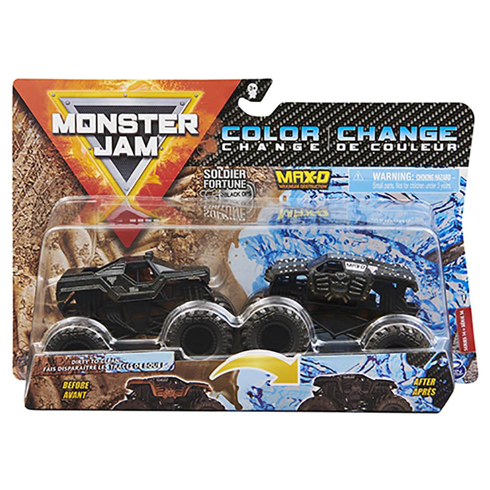 Monster Jam 1:64 Soldier Fortune e Max-D Maximum Destruction