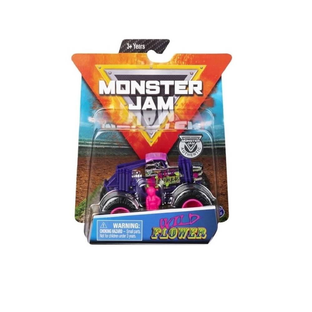 Monster Jam - Escala 1:64 - Wild Flower