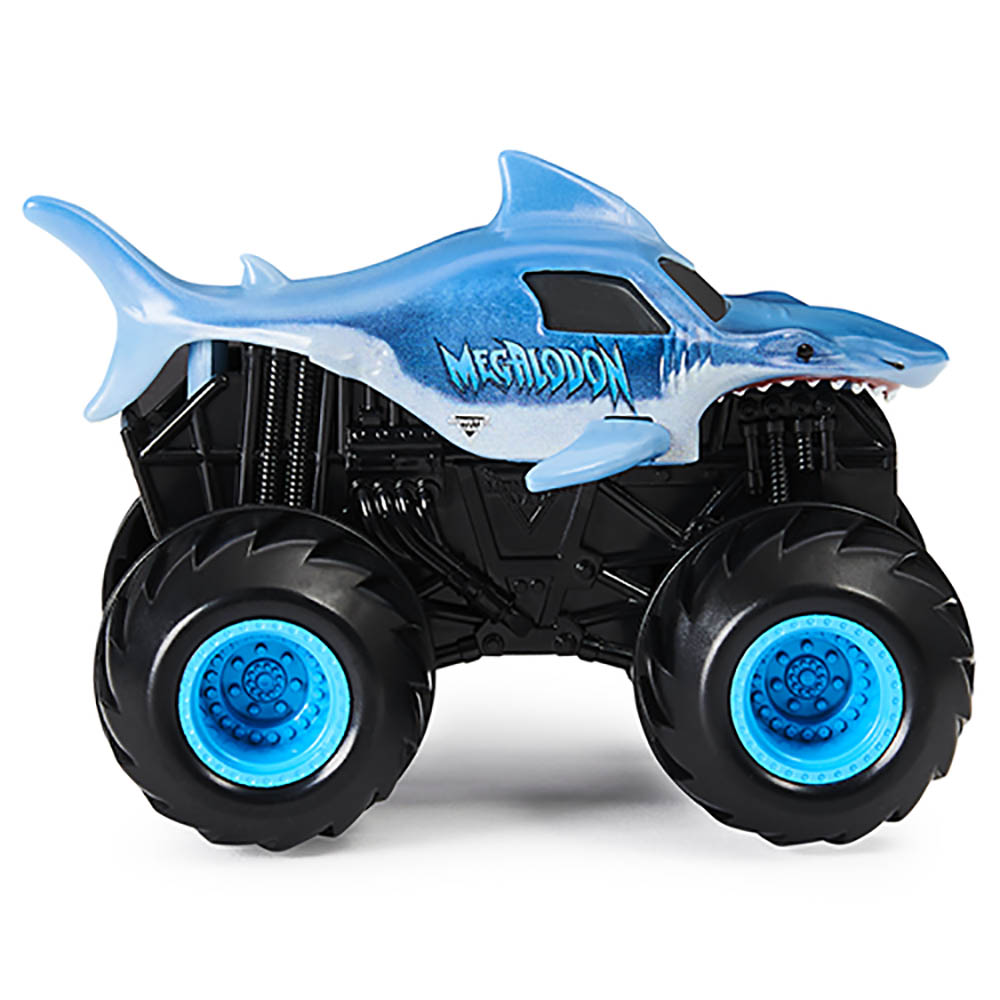 Monster Jam - Escala 1:43 - Veículo- Spin Rippers- Megalodon