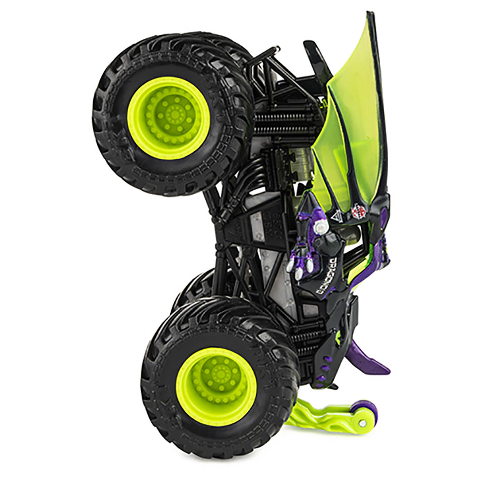 Monster Jam - Escala 1:64 - Miniveículo-Darkus Dragonoid