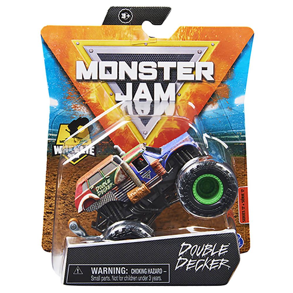 Monster Jam - Escala 1:64 - Miniveículo -Double Decker