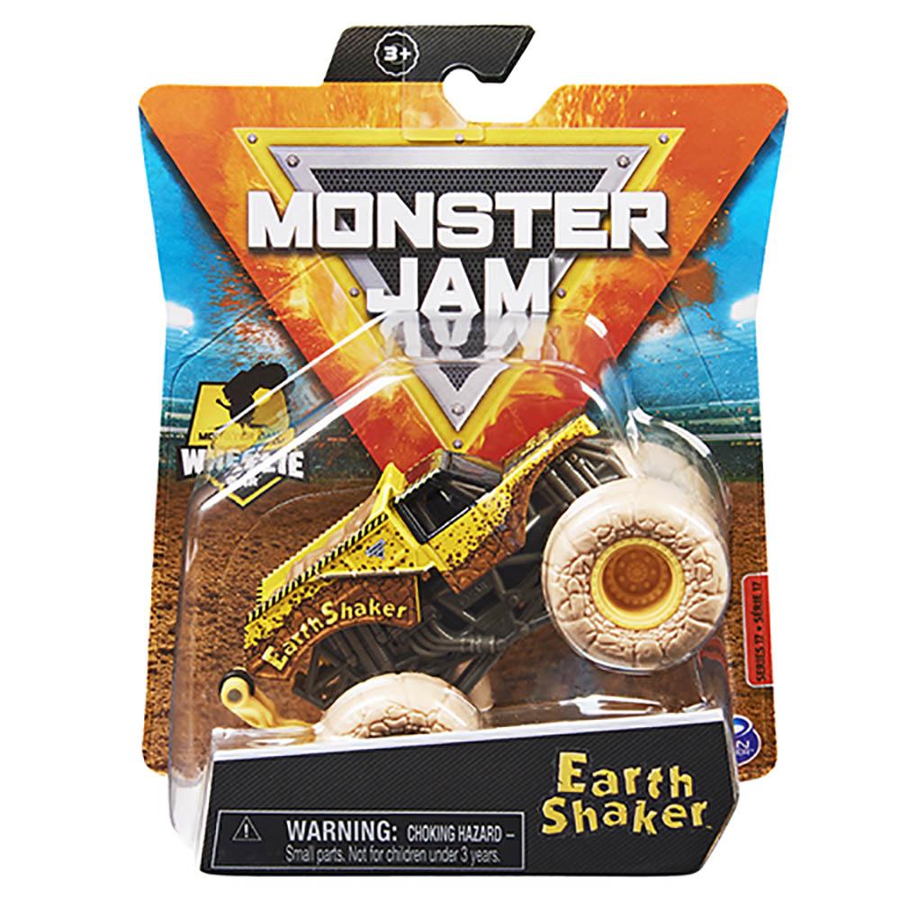Monster Jam - Escala 1:64 - Miniveículo - Earth Shaker