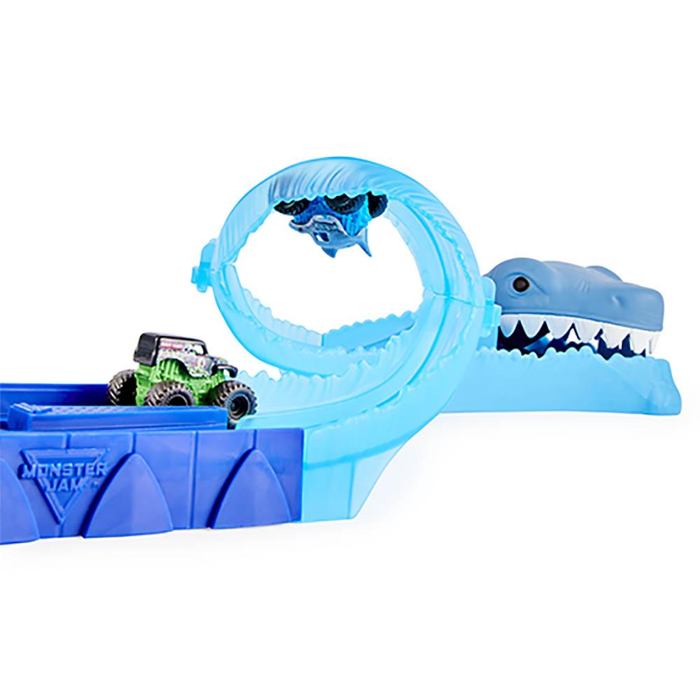 Monster Jam - Mini Playset De Corrida Com 3 Peças