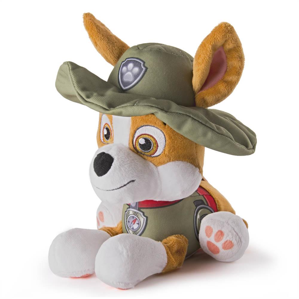 Patrulha Canina - Pelúcia de 15 cm - Tracker
