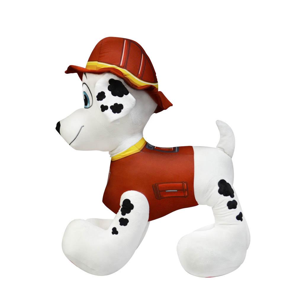 Patrulha Canina - Pelúcia Gigante de 80 cm - Marshall