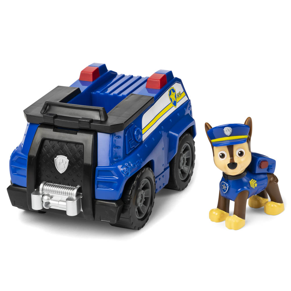 Patrulha Canina - Veículo Com Figura - Chase