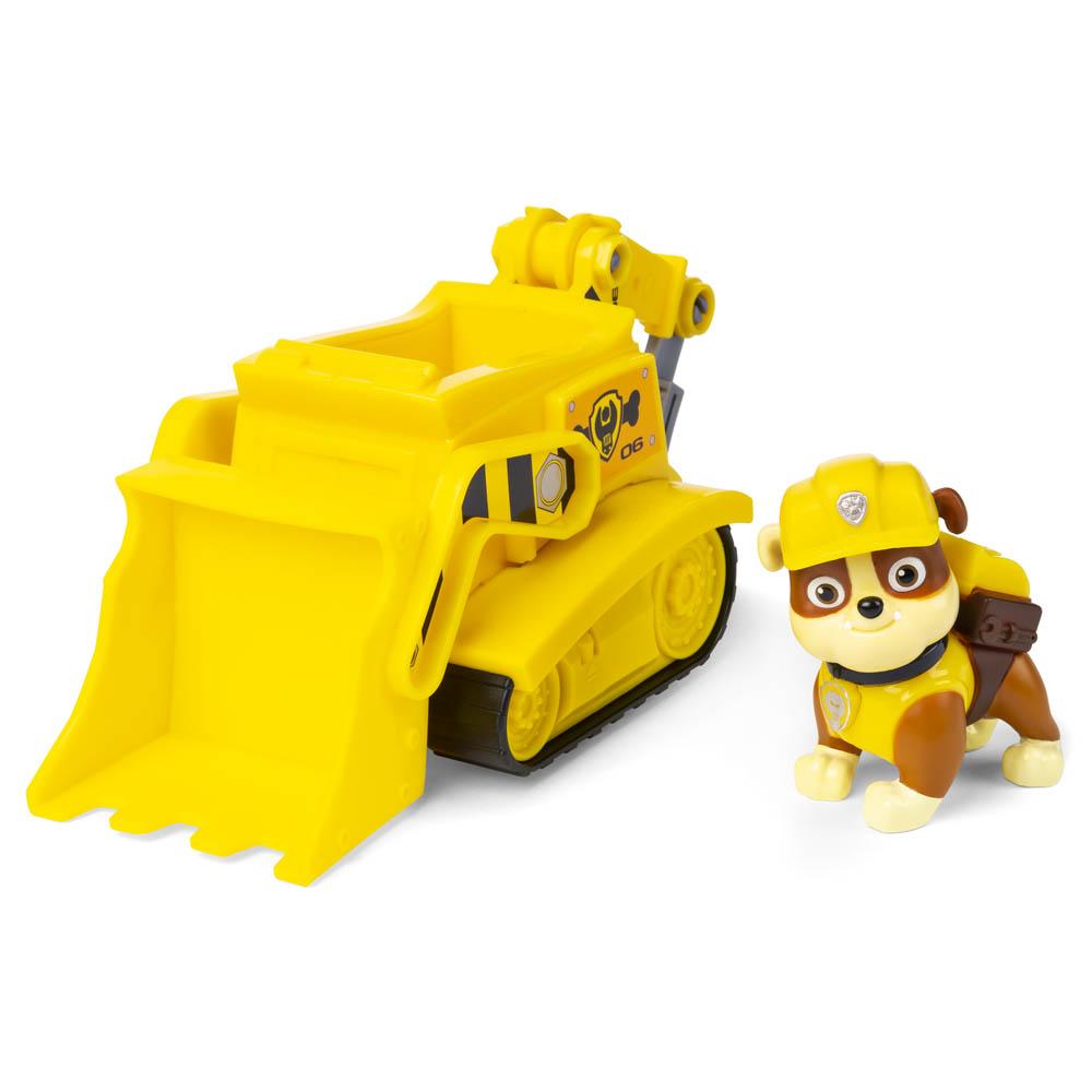 Patrulha Canina - Veículo Com Figura - Rubble