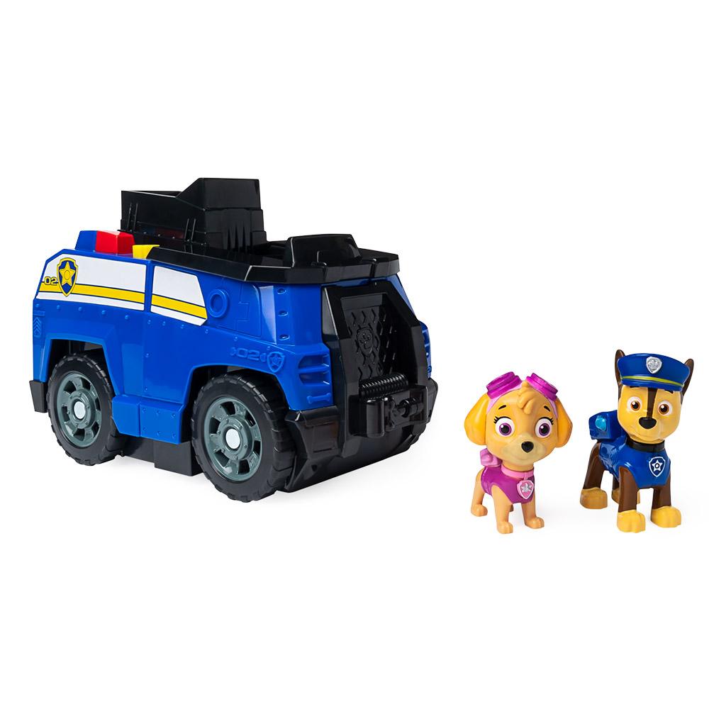 Patrulha Canina - Veículo Patrulha Canina 2 em 1 - Chase