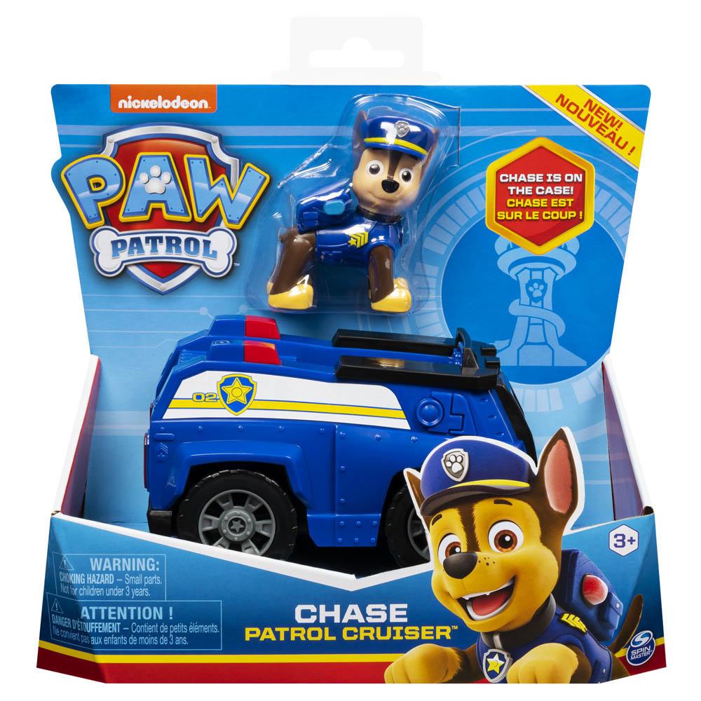 Patrulha Canina - Veículos com Figura - Chase