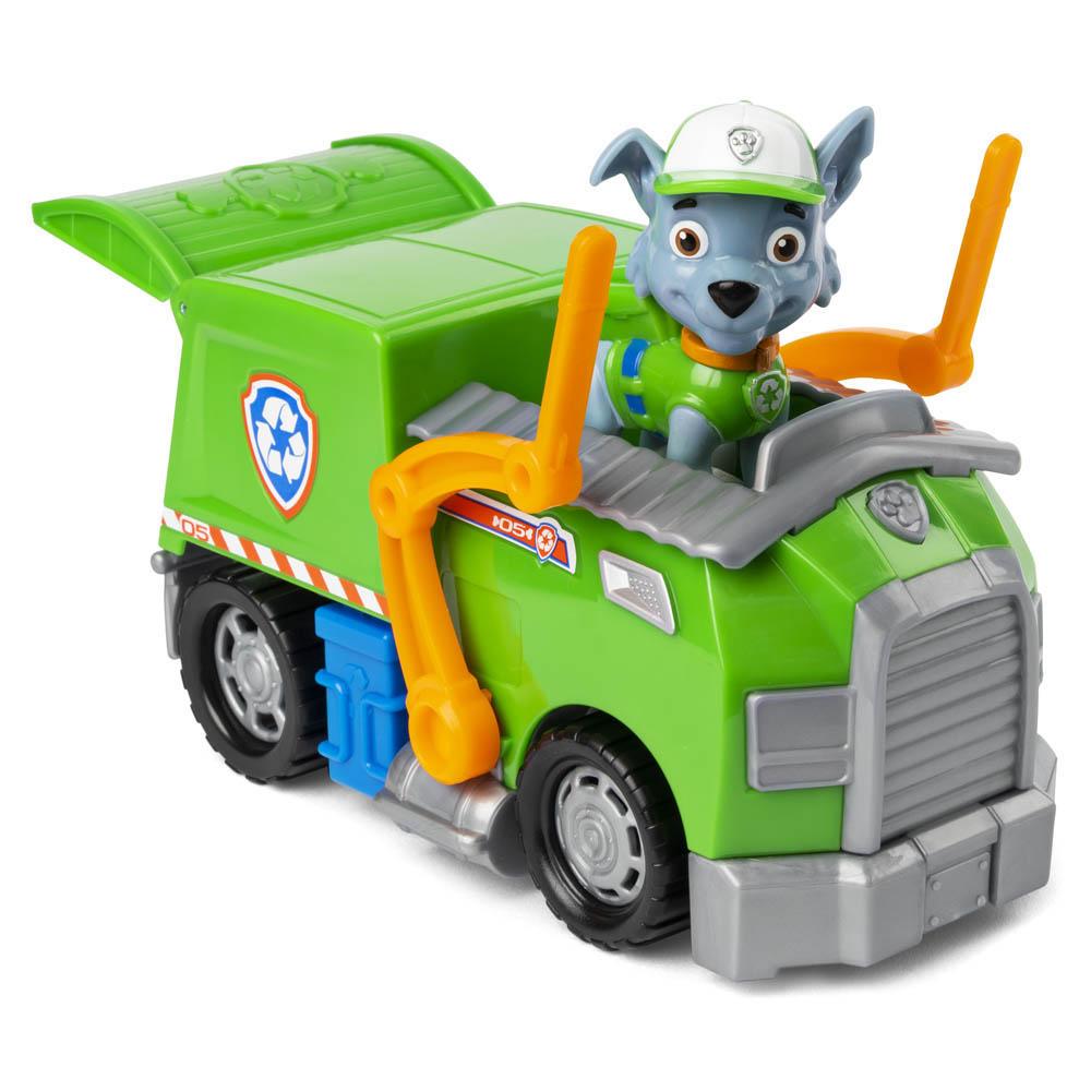 Patrulha Canina - Veículos com Figura - Rocky