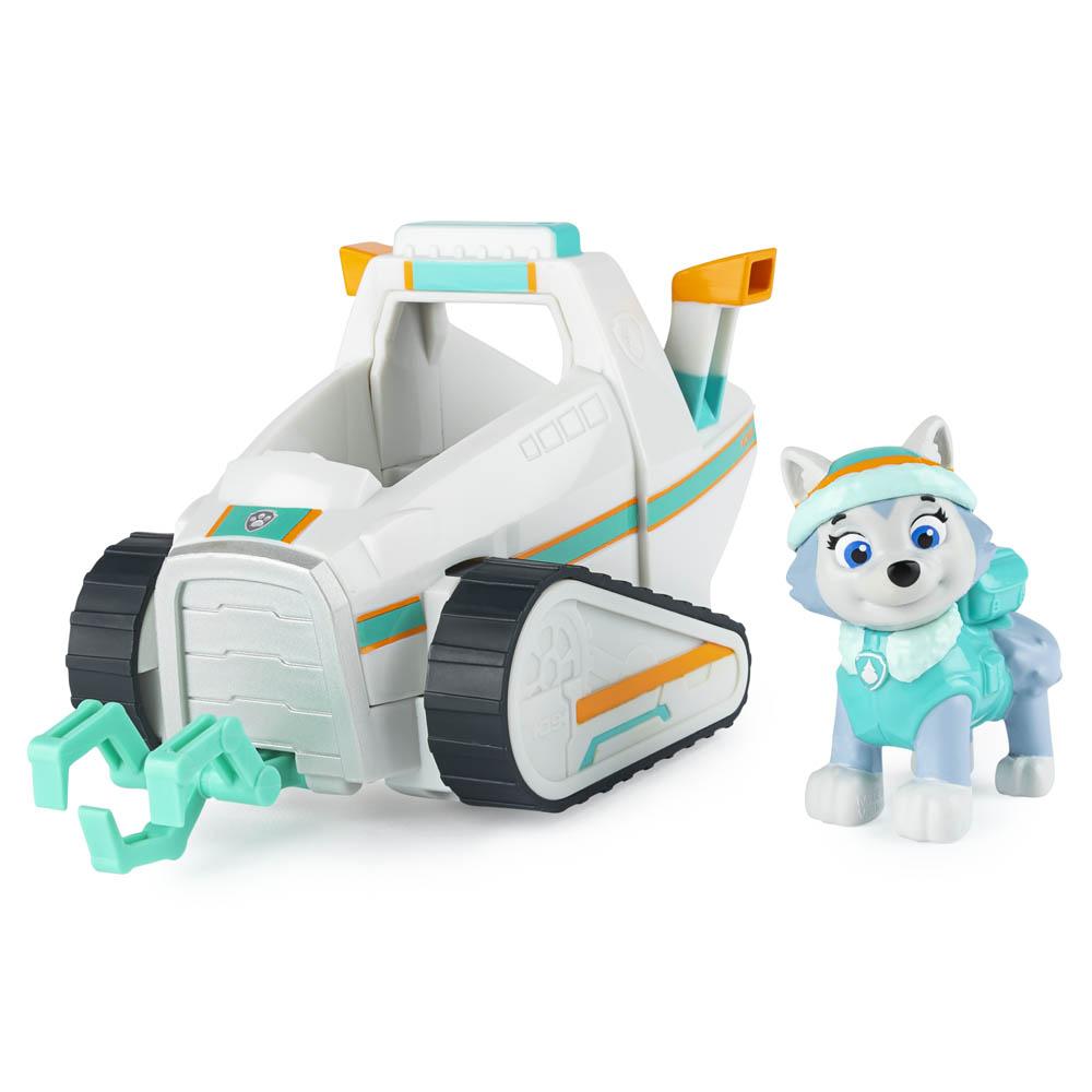 Patrulha Canina - Veículos com Figura - Everest