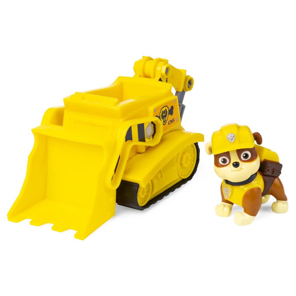 Patrulha Canina - Veículos com Figura - Rubble