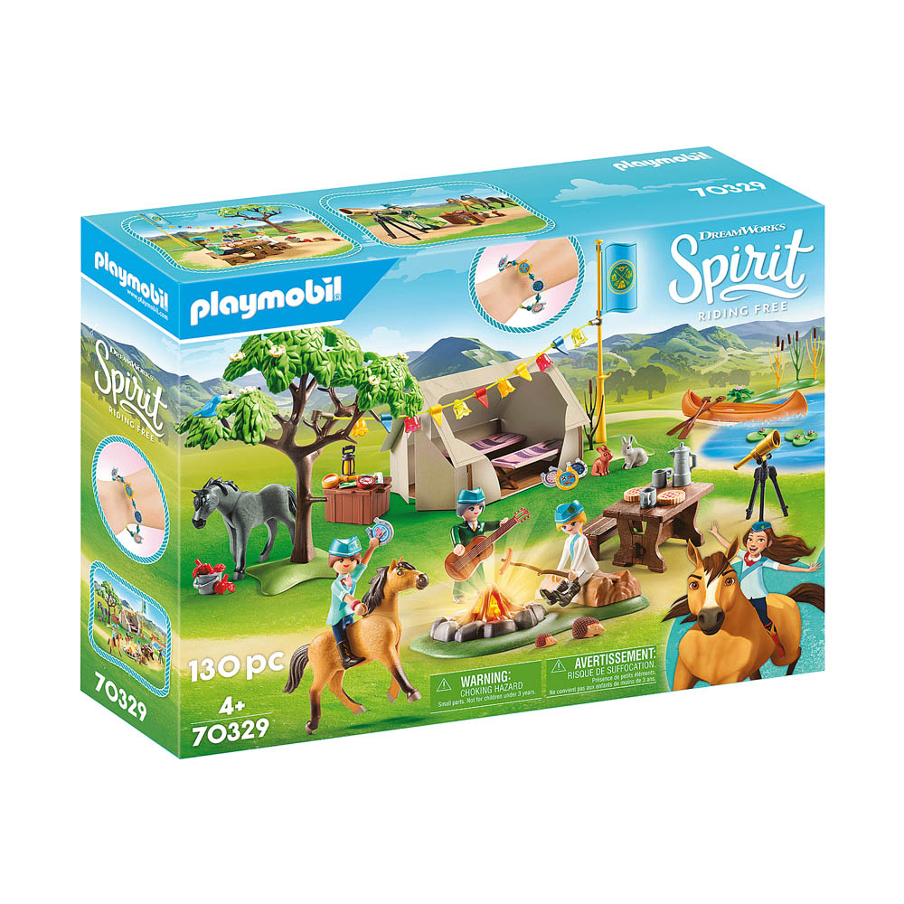 Playmobil - Acampamento De Verão
