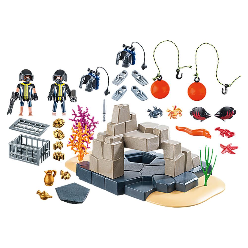 Playmobil -Acessorios Para Mergulho Superset