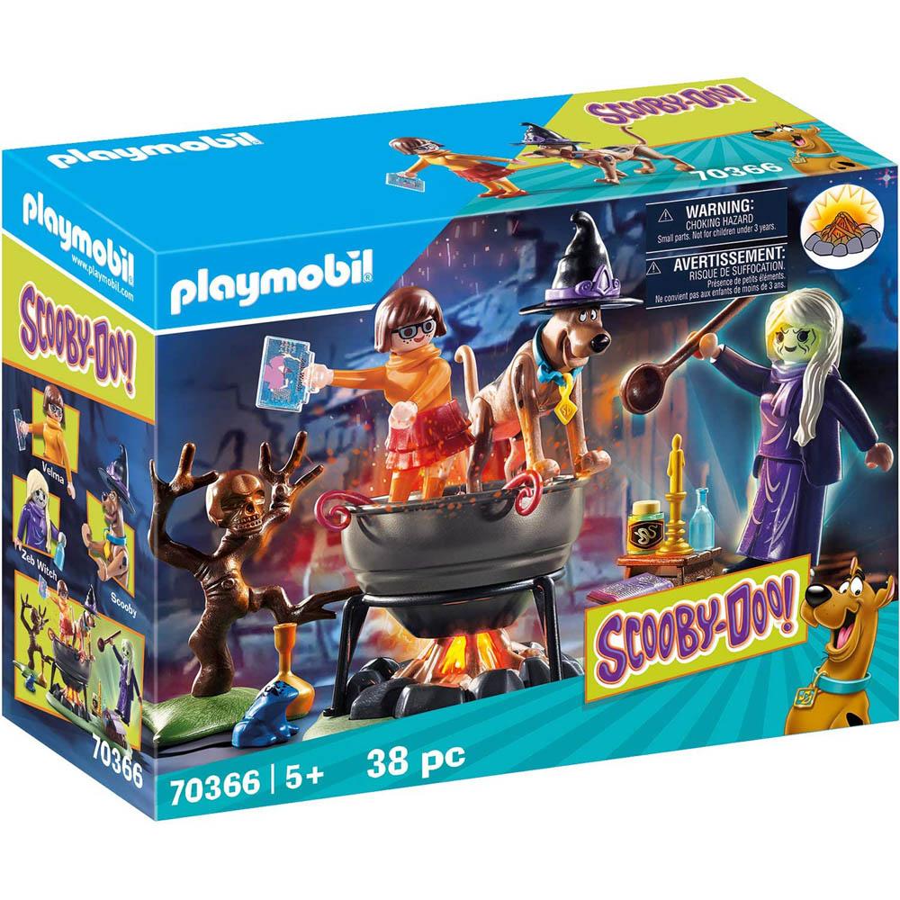 Playmobil - Aventura No Caldeirão Das Bruxas
