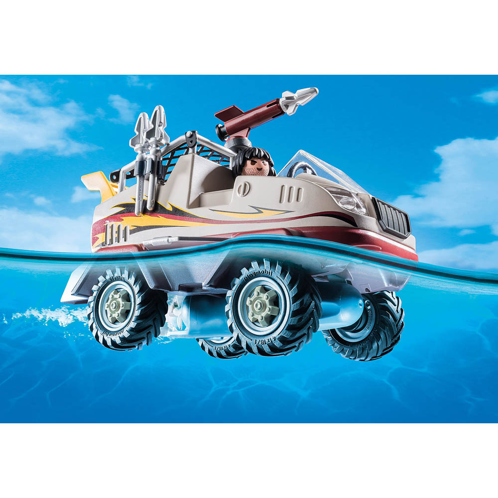 Playmobil Caminhao Anfibio Sunyy