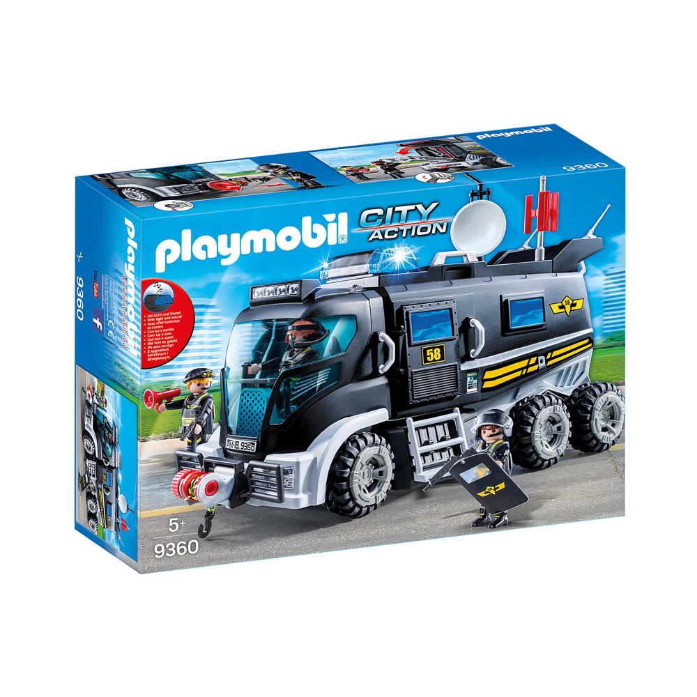 Playmobil Caminhao De Unidade Tatica Sunyy