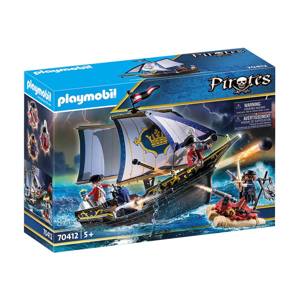 Playmobil - Caravela Dos Casacas Vermelhas