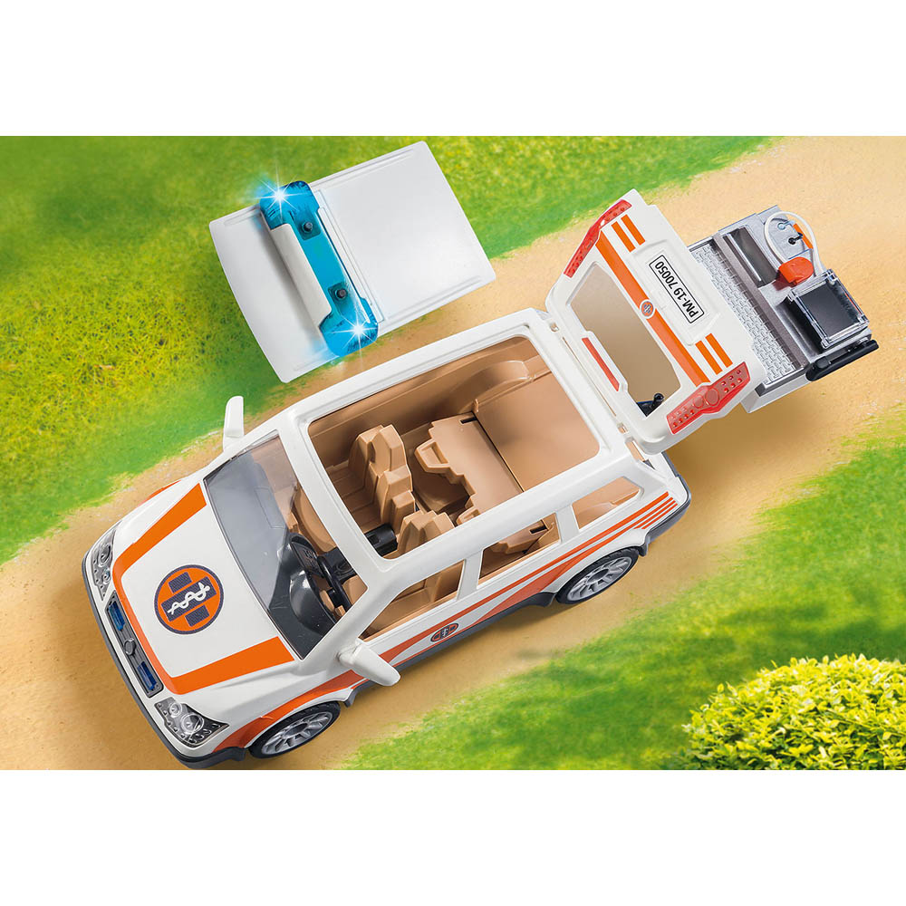 Playmobil - Carro De Emergência Com Sirene