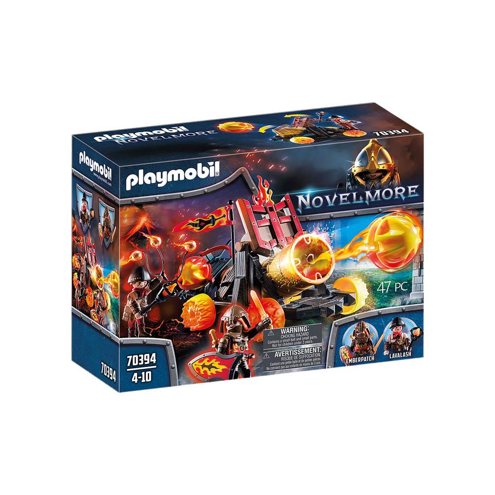 Playmobil - Catapulta De Lava Dos Bandidos De Burnham