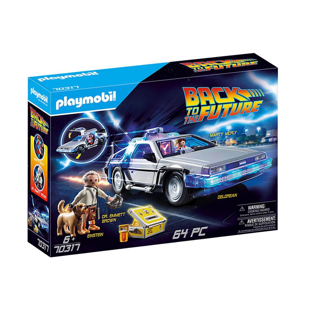 Playmobil - De Volta Para O Futuro Delorean