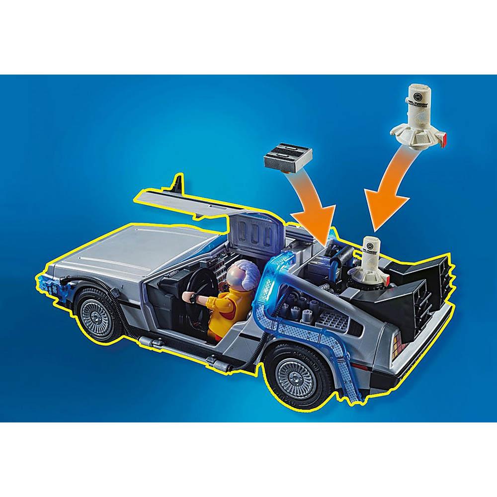 Playmobil - De Volta Para O Futuro Parte Ii Com Fuga