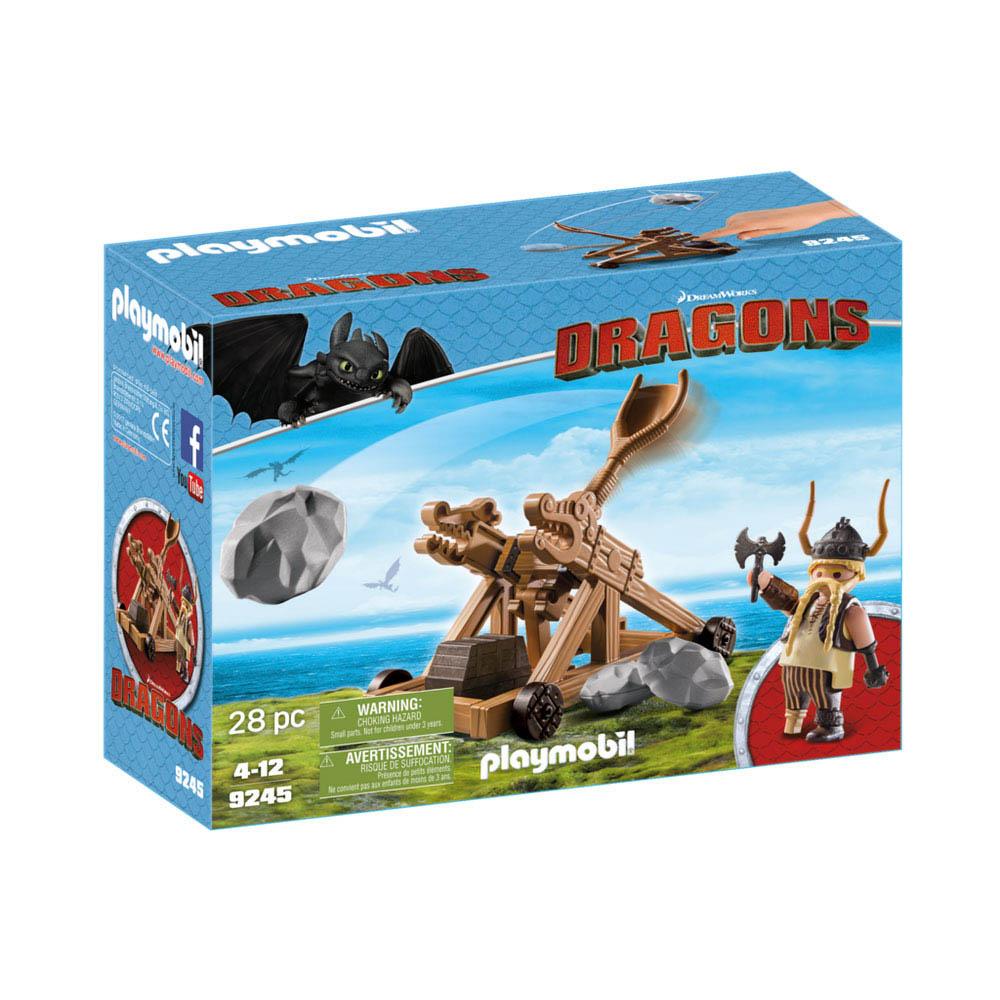 Playmobil - Dragões - Bocão Com Lançador