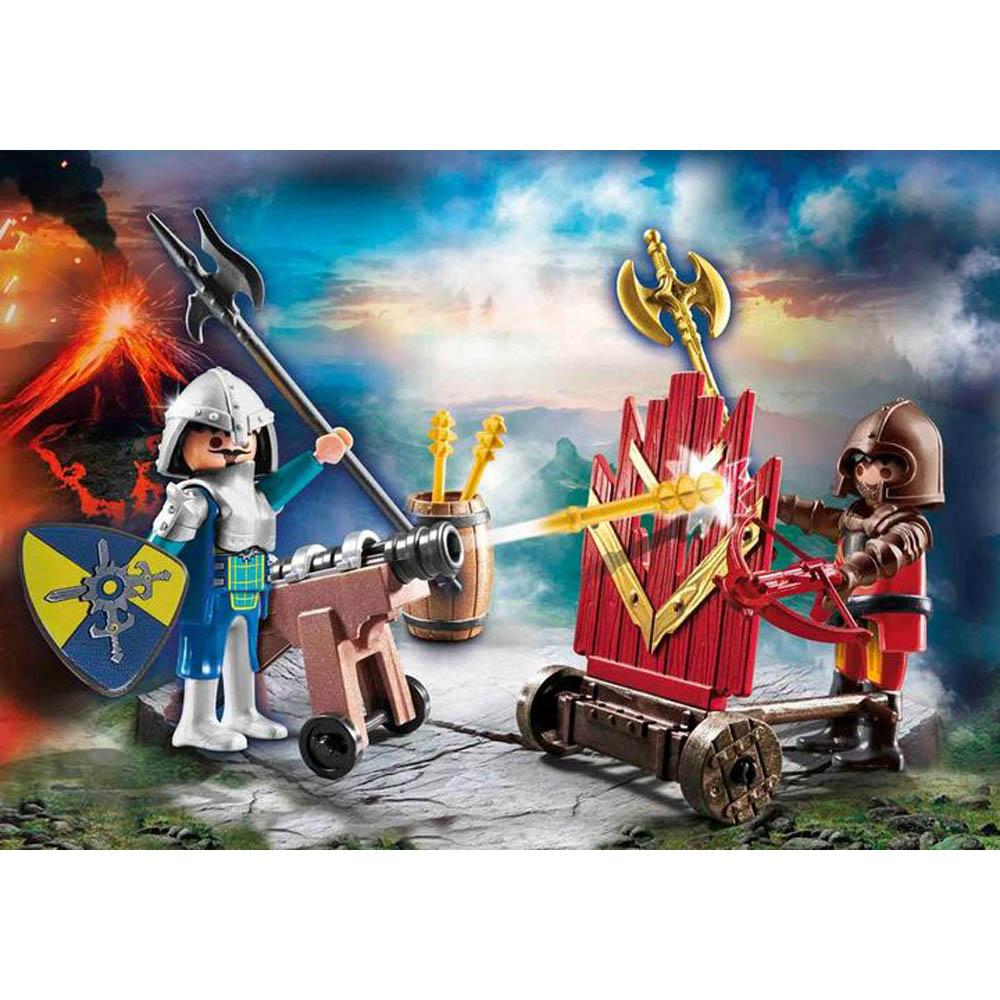 Playmobil - Duelo De Cavalheiros De Novelmore