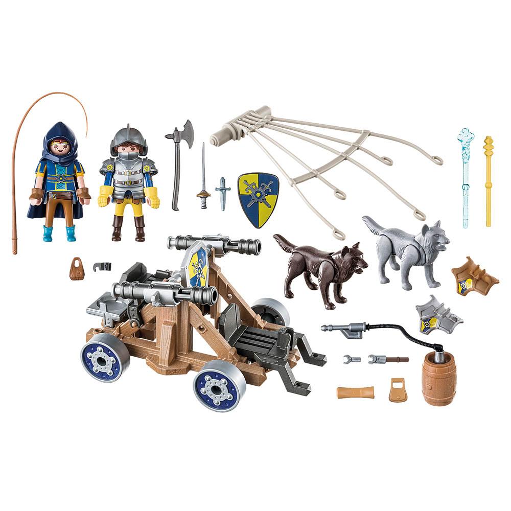 Playmobil - Equipe De Lobos De Novelmore