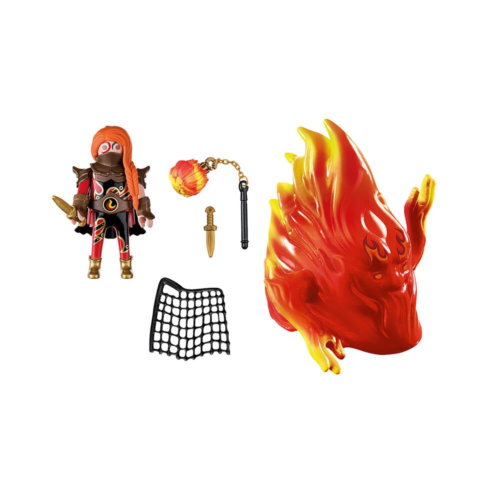 Playmobil - Espírito De Fogo Dos Bandidos De Burnham