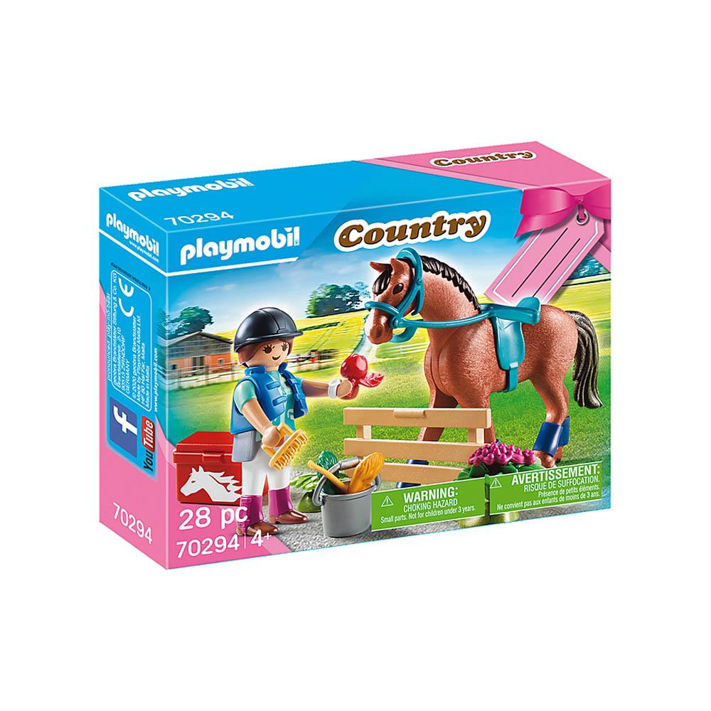 Playmobil - Fazenda De Cavalos