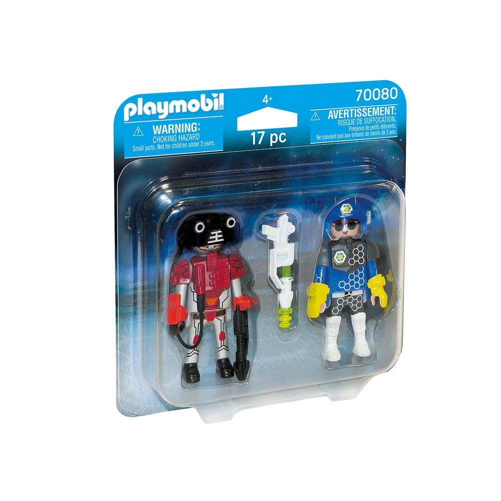 Playmobil - Figura Policial Do Futuro