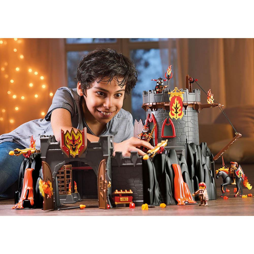 Playmobil - Fortaleza Dos Bandidos De Burnham