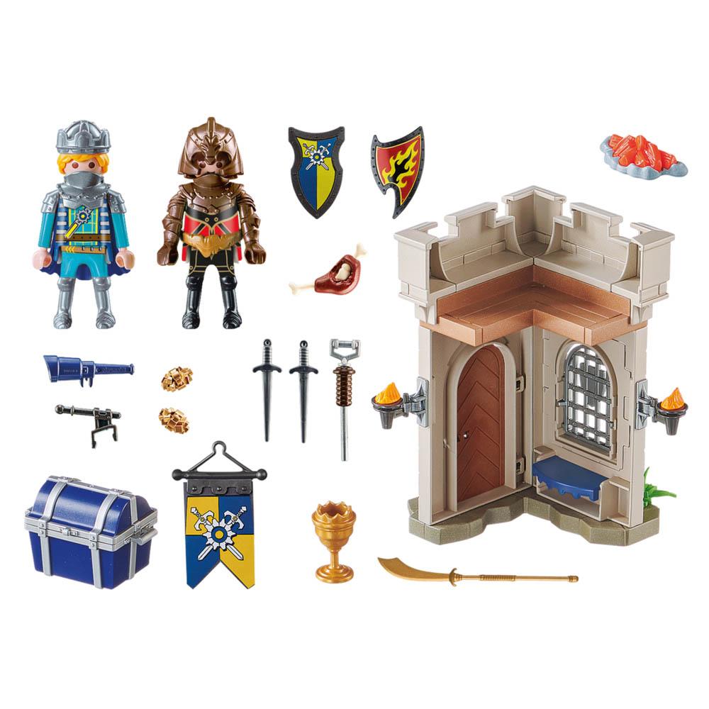 Playmobil - Fortaleza Dos Cavaleiros De Novelmore