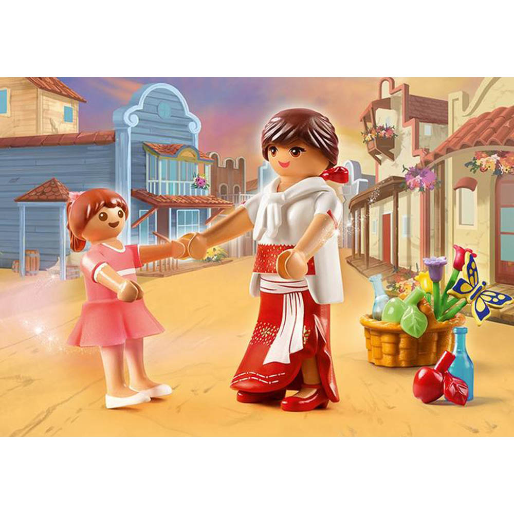 Playmobil - Lucky Jovem E Mamãe Milagro