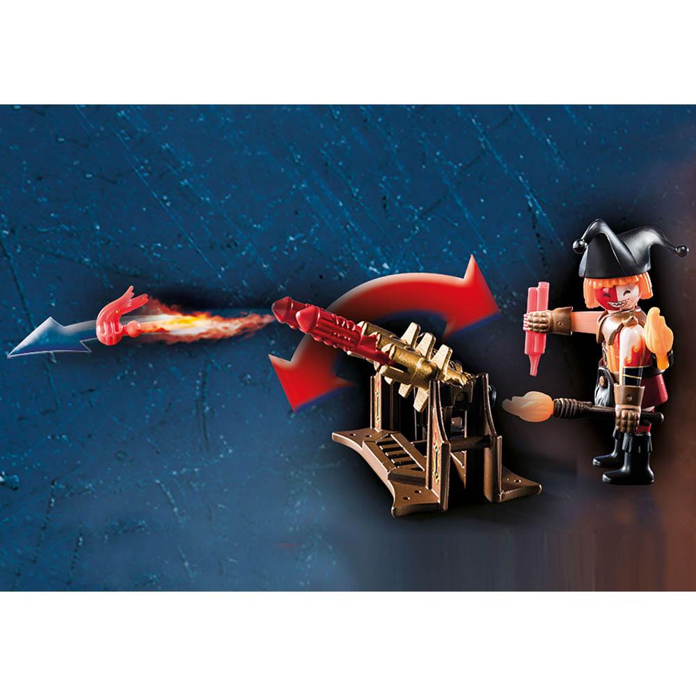 Playmobil - Mestre Do Fogo Dos Bandidos De Burnham