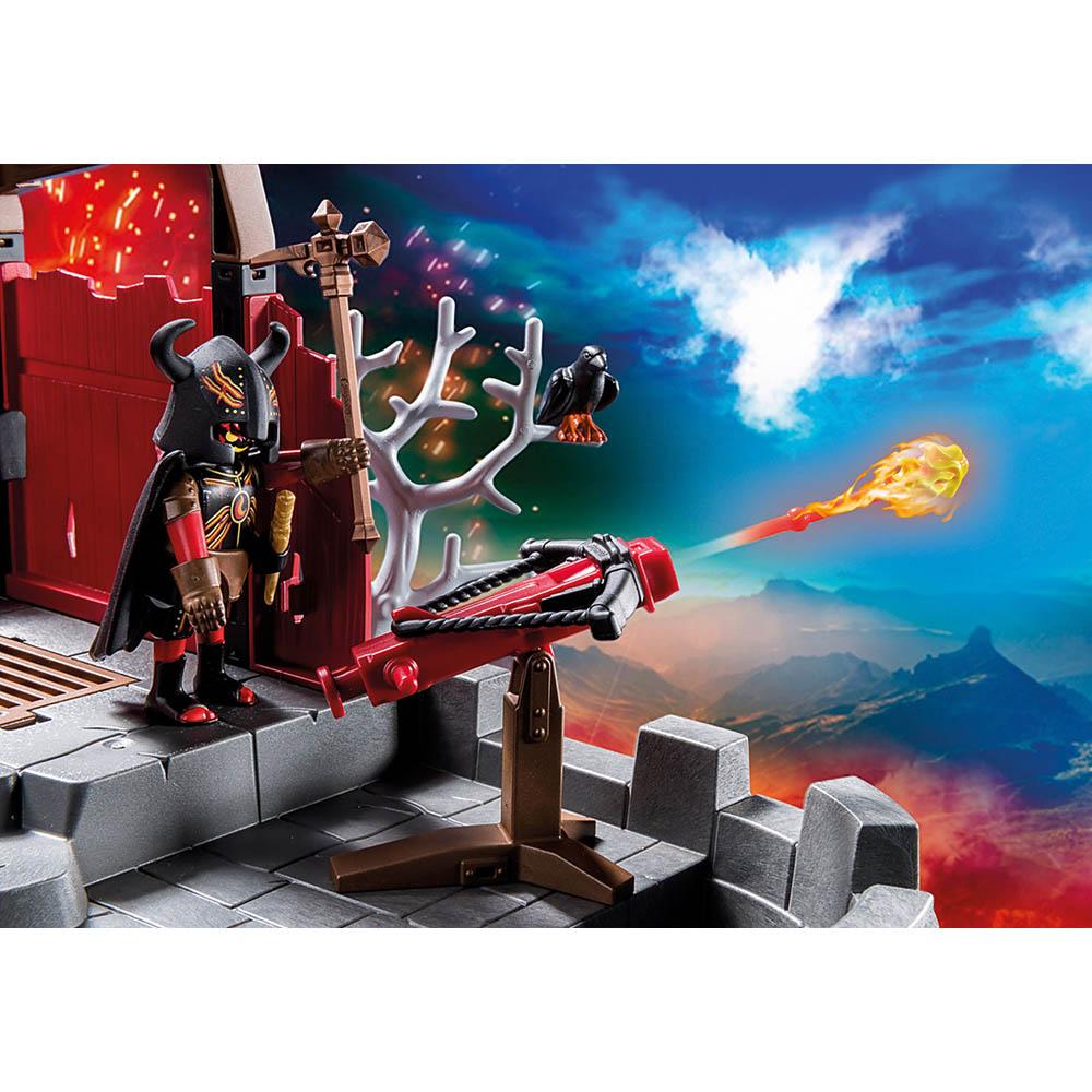 Playmobil - Mina De Lava Dos Bandidos De Burnham