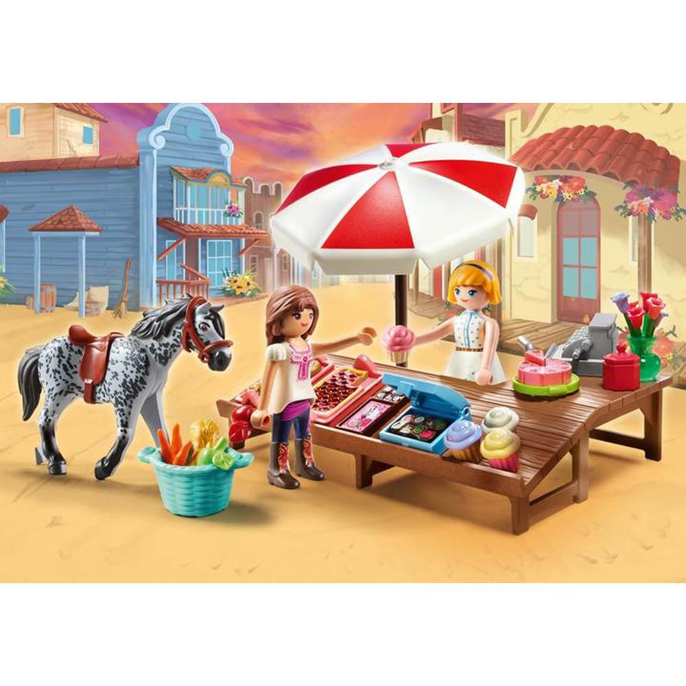 Playmobil - Miradero Stand De Doces