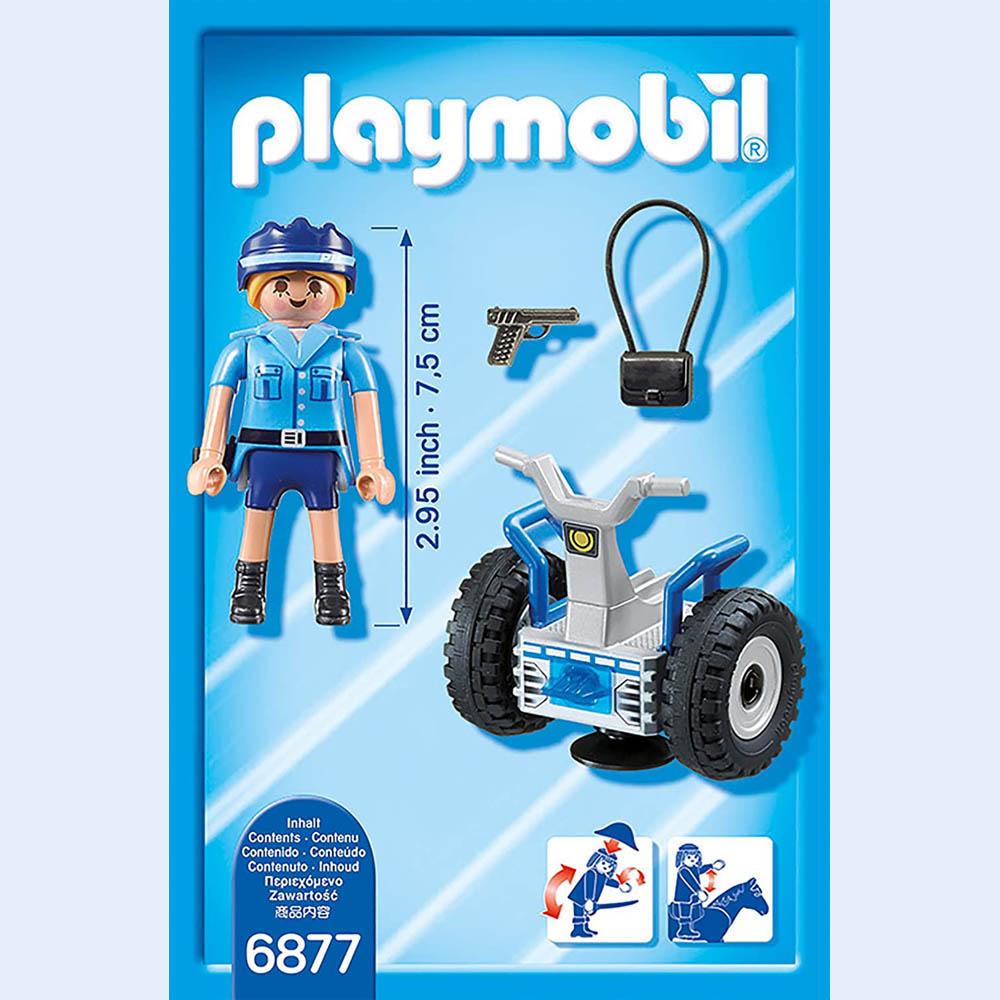 Playmobil - Polícia Feminina com Segway