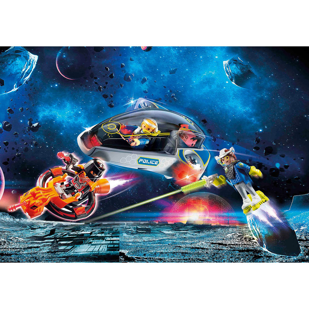Playmobil - Polícia Galáctica Com Planador