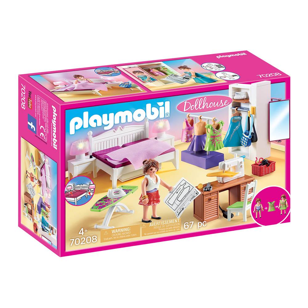 Playmobil - Quarto Com Canto De Costura